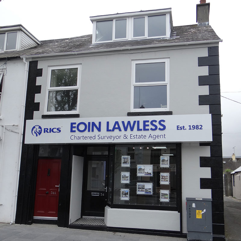 Eoin Lawless Office Exterior